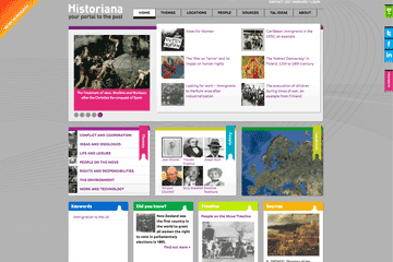 Historiana website