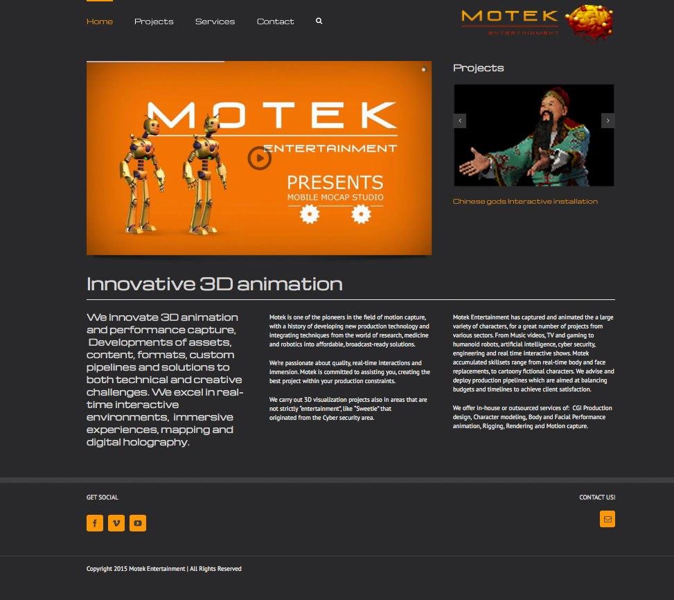 Motek-homepage