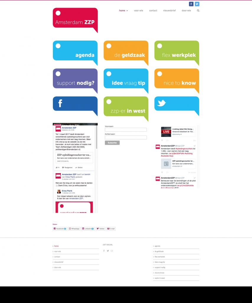 Homepage AmsterdamZZP